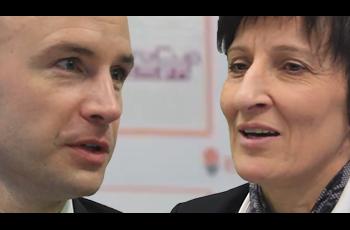 Frédéric Dusart et Valérie Garnier