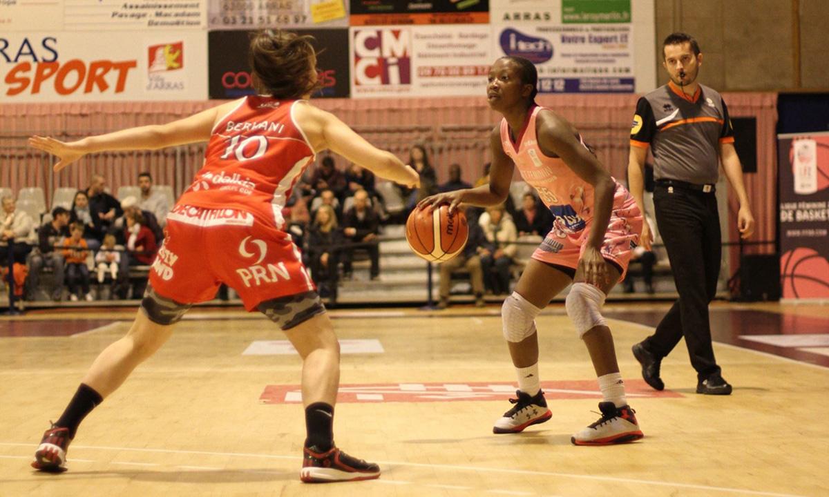 Coupe de france mondeville assure sa qualification arras 50 59 - Basket feminin coupe de france ...