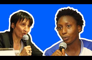Fatimato Sacko et Valérie Garnier