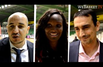 Rachid Meziane, Laetitia Kamba et Xavier Noguera