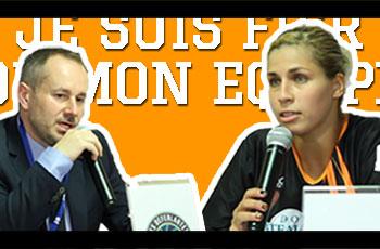 Emmanuel Coeuret et Amel Bouderra