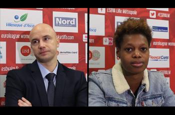 Frédéric Dusart et Valériane Ayayi