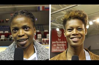 Olivia Epoupa et Valeriane Ayayi