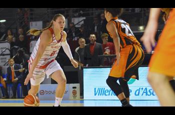 Alina Iagupova dans le match Villeneuve-d'Ascq - Ekaterinbourg