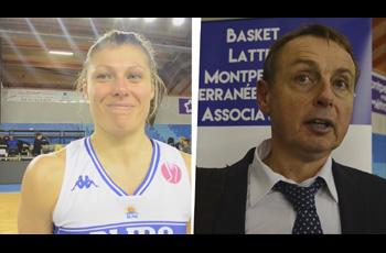 Anaël Lardy et son coach Valéry Demory