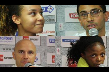 Marieme Badiane, Romain L'Hermitte, Olivia Epoupa, Frédéric Dusart