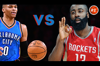 DUEL #2 | Russell Westbrook Vs. James Harden