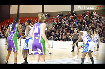 Résumé d'AS Aulnoye - Landerneau Bretagne Basket (69-63) en LF2