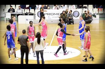 Résumé de Toulouse Métropole Basket - AB Chartres (70-72) en LF2