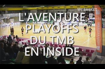 Teaser de l'aventure Playoffs du Toulouse Métropole Basket en INSIDE