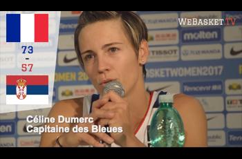 Céline Dumerc après France-Serbie