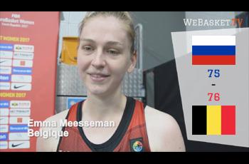 Emma Meeseman après Russie-Belgique