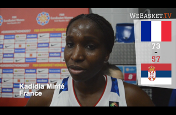 Kadidia Minté après France-Serbie