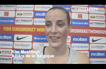 Kim Mestdagh après Belgique-Monténégro
