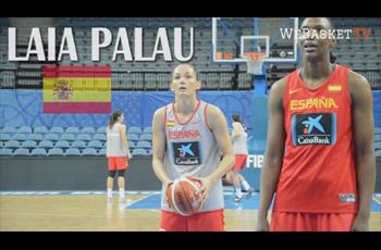 Laia Palau à l'entraîenement