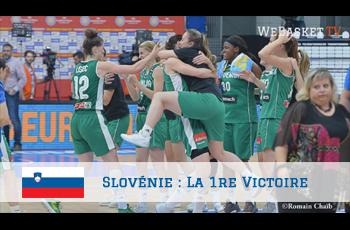 La Slovénie décroche la 1re victoire de son histoire à l'EuroBasket