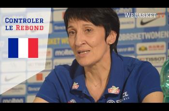 Valérie Garnier en conférence de presse parle du rebond