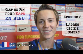 Céline Dumerc en zone mixte