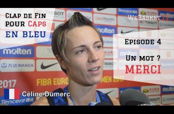 Céline Dumerc en conférence de presse