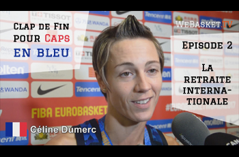 Céline Dumerc répond aux journalistes