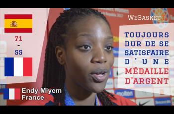 Endy Miyem après Espagne-France