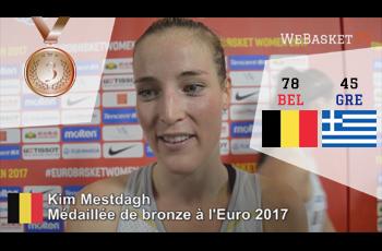 Kim Mestdagh après Grèce-Belgique