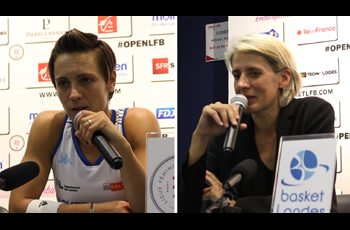 Céline Dumerc et Cathy Melain