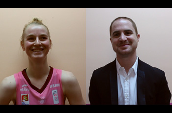 Claire Stiévenard et Quentin Buffard