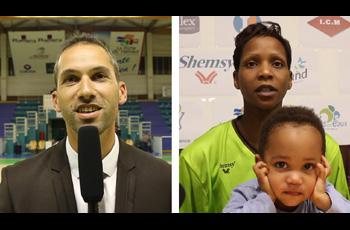Bintou Marizy-Dieme et Fabrice Fernandes