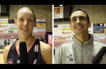 Lucie Carlier et Xavier Noguera