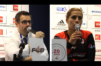 Amel Bouderra et Romuald Yernaux