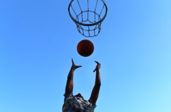 Entrainement individuel au basketball