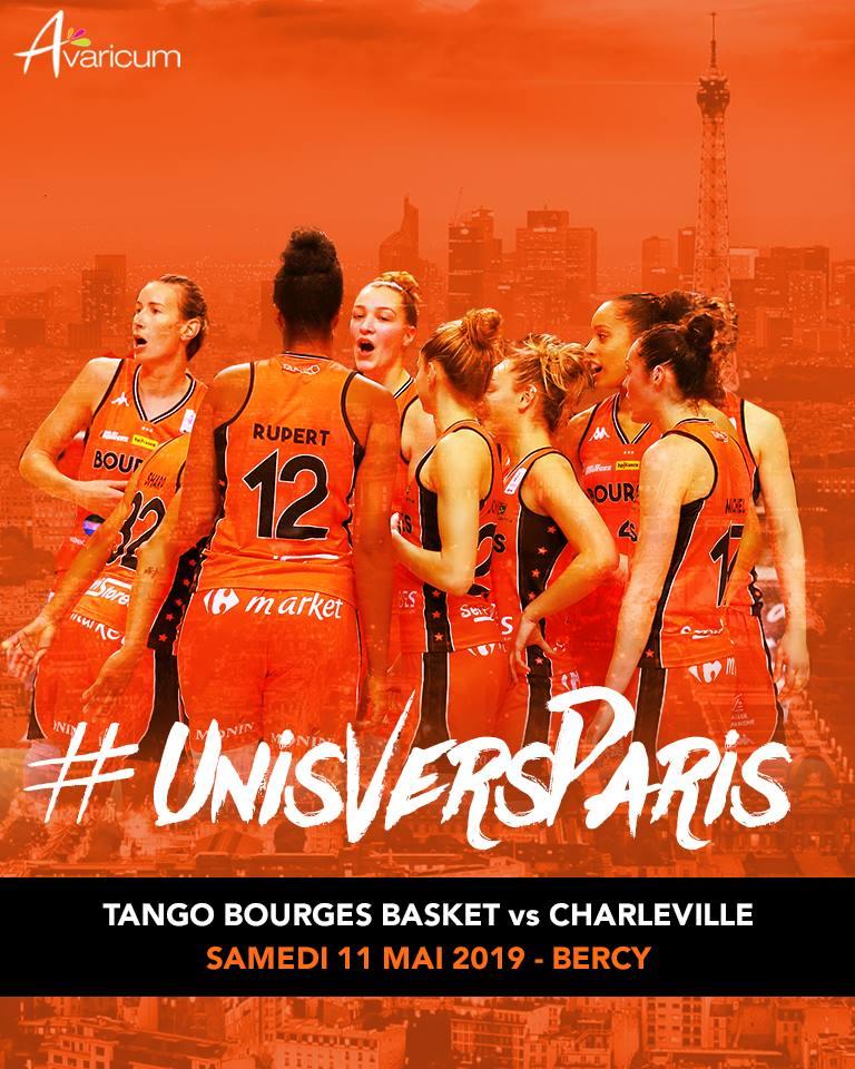 Affiche Tango Bourges Basket Finale de Coupe de France 2019