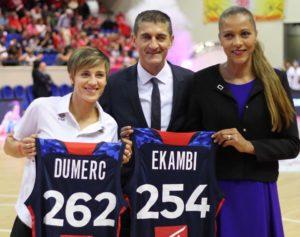 Céline Dumerc, Jean-Pierre Siutat et Paoline Ekambi