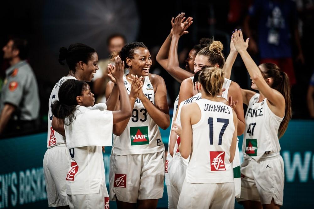 equipe de france de basket feminin