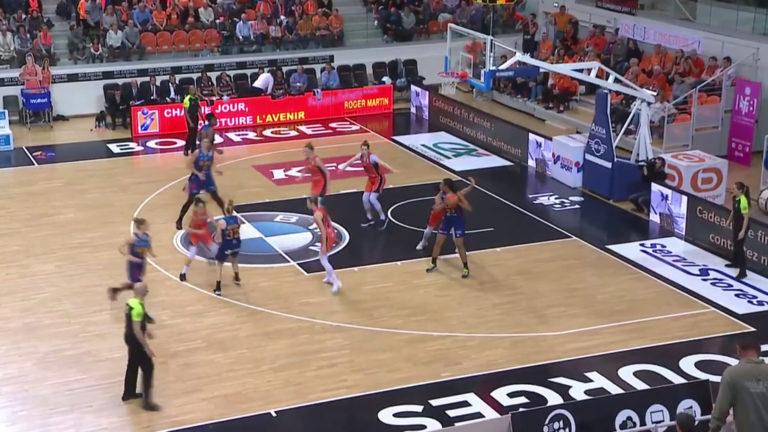 Résumé Bourges vs Montpellier