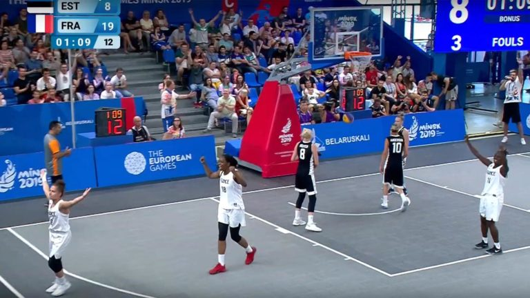 resume estonie france finale medaille d or jeux europeens basket 3x3