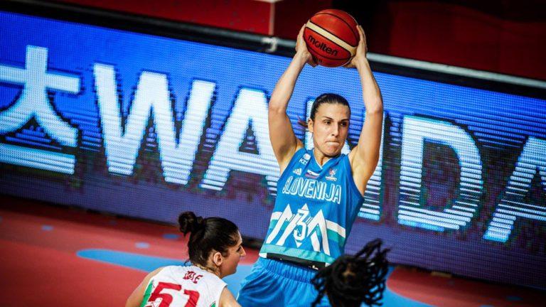 teja oblak slovenie basket feminin