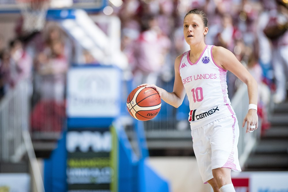 camille aubert basket landes eurocup 2018 2019