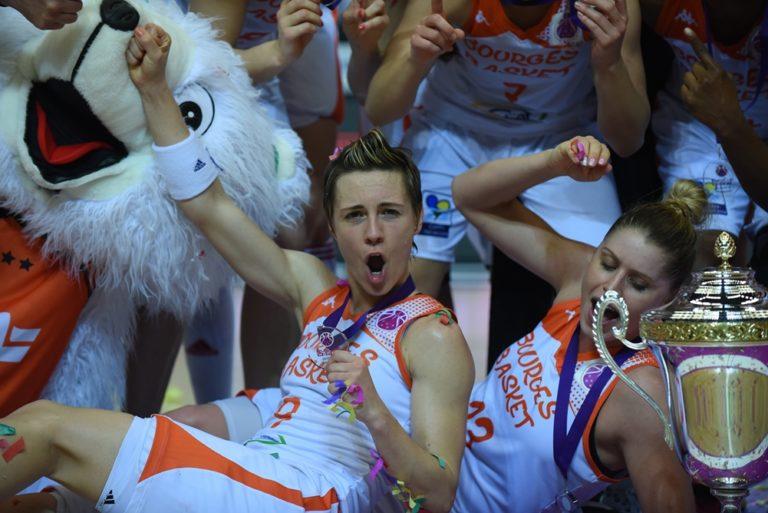 celine dumerc remporte l'eurocup 2016 avec bourges