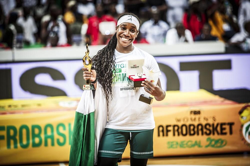 ezinne kalu phelps meneuse nigeria mvp afrobasket 2019