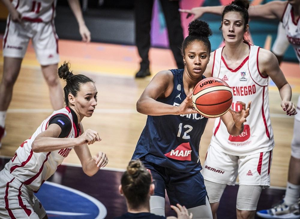 iliana rupert france montenegro eurobasket 2019