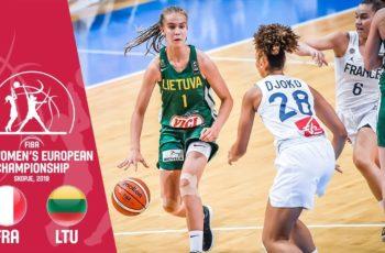 LIVE : Regardez FRANCE vs LITUANIE en direct jeudi 29/8 à 18h45 – 1/2 finale Eurobasket U16 féminin
