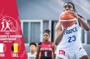 LIVE : Suivez FRANCE vs BELGIQUE en direct mardi 27/8 à 14h15 – 1/4 de finale Eurobasket U16 féminin