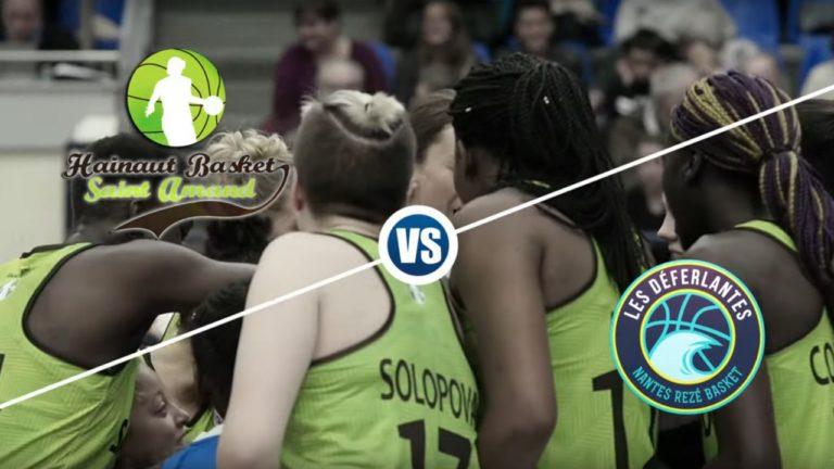 resume saint amand vs nantes reze basket open maif lfb