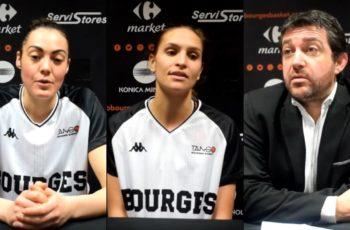 Sarah Michel, Alexia Dubié (Plagnard) et le coach Olivier Lafargue