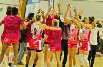 cbbs charnay les macon apres victoire face a montbrison en lf2 2018-2019