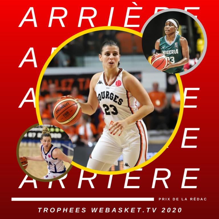 ana dabovic elue arriere de la saison 2019-2020 par la redaction webasket tv