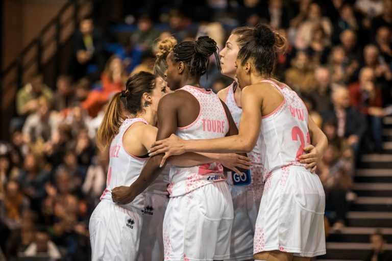 Basket Landes vs Cadi la Seu en 1/16 de finale de l'Eurocup 2019-20
