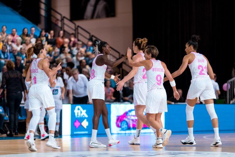 Basket Landes vs Cadi la Seu en Eurocup 2019-20